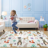 Baby Play Mat Non toxic XPE Folding Developing Mat For Infant Soft Gaming Mat For Children Crawling Pad For Kids Carpet