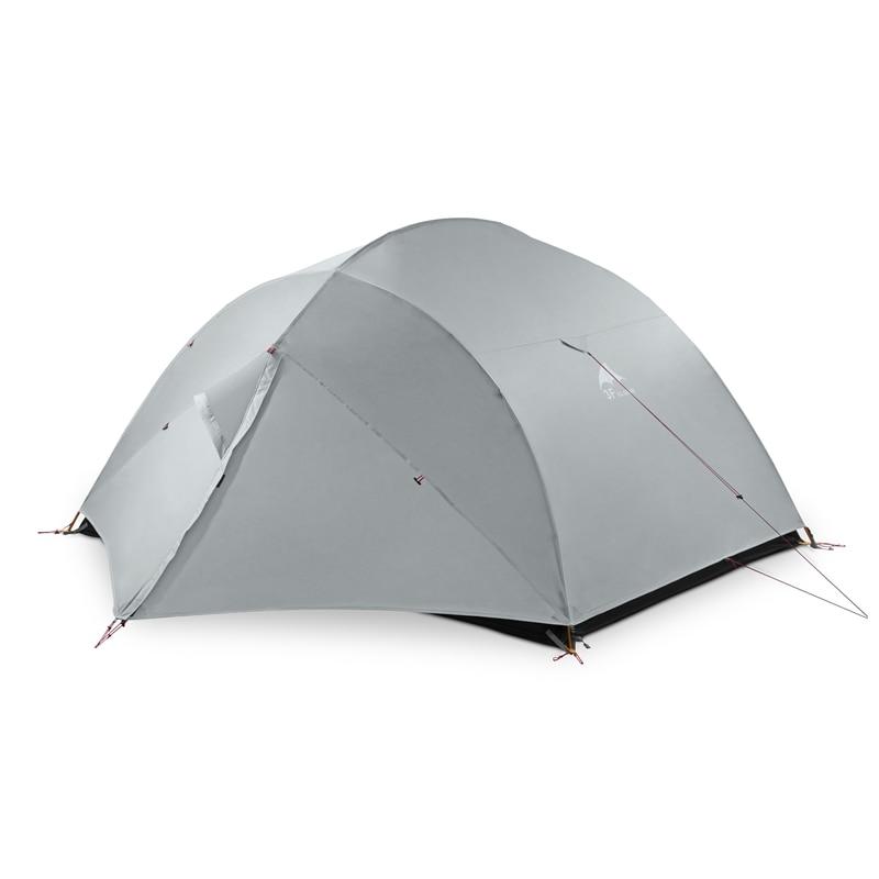 3F UL GEAR 3 personnes tente de Camping avec feuille de sol extérieur ultra-léger randonnée sac à dos imperméable auto-Sta tente 15D Silicone
