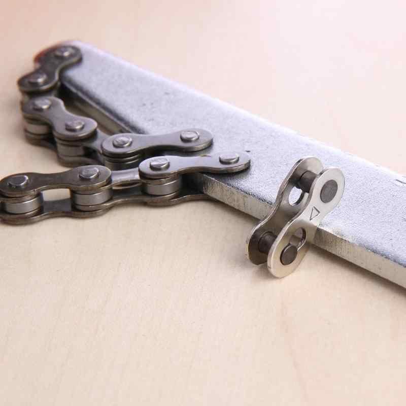 Łańcuchy rowerowe złącze zestaw z zamkiem rower łączący łańcuch magia klamra złącze łańcucha prędkość szybki ogniwo główne narzędzie do naprawy części