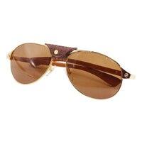 DHL Бесплатная Пилот мужские деревянные очки Картер очки рамка для женщин Сантос Солнцезащитные очки Ретро дизайн украшения очки аксессуары