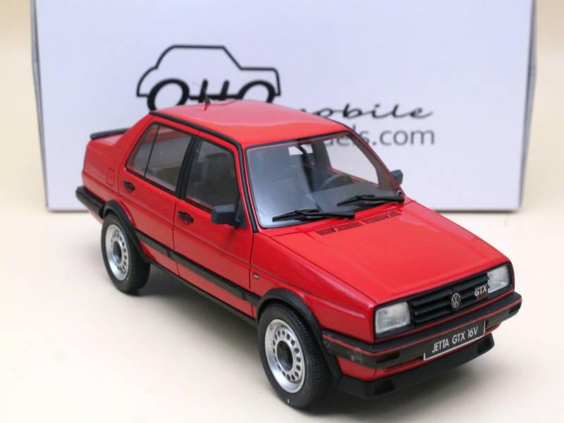 Jetta GTX 16V модель автомобиля из смолы, литые игрушки, красные/белые/черные/легкие золотые 1:18 весы для автомобилей