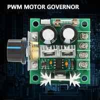 Regulador de Motor de cc 12V-40V 10A PWM, regulador de Motor de CC, módulo de Interruptor de Control de Velocidad Variable continuo
