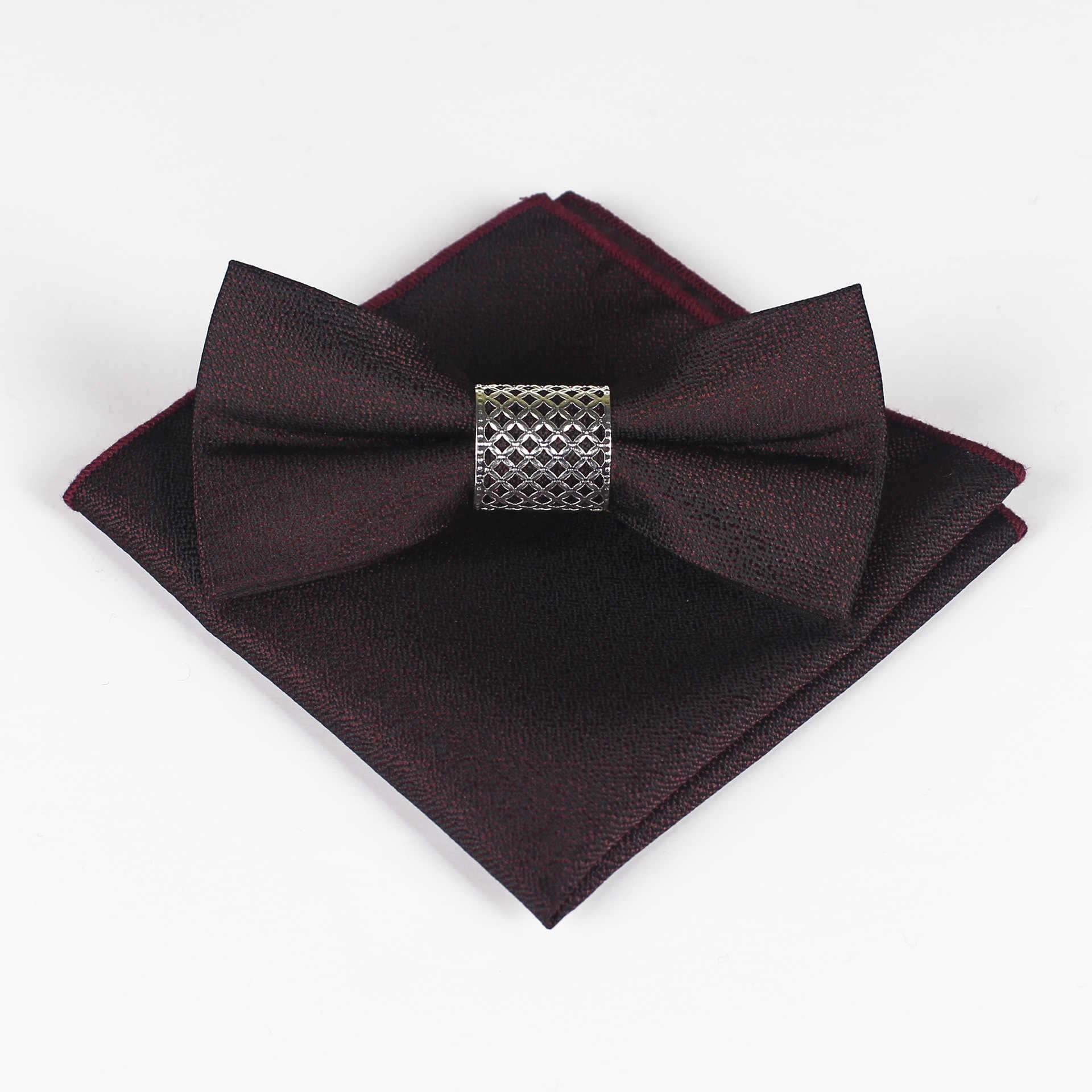 Mantieqingway галстук бабочка 2019 Горячий тренд набор металлический сердечник