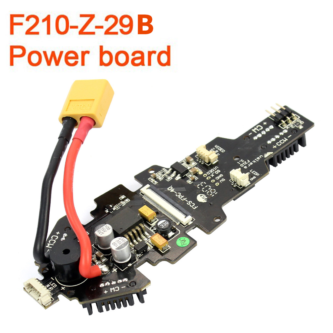 Walkera F210 RC Helicopter Quadcopter Spare Parts F210-Z-29B Power Board Drone Accessory Kits F17452