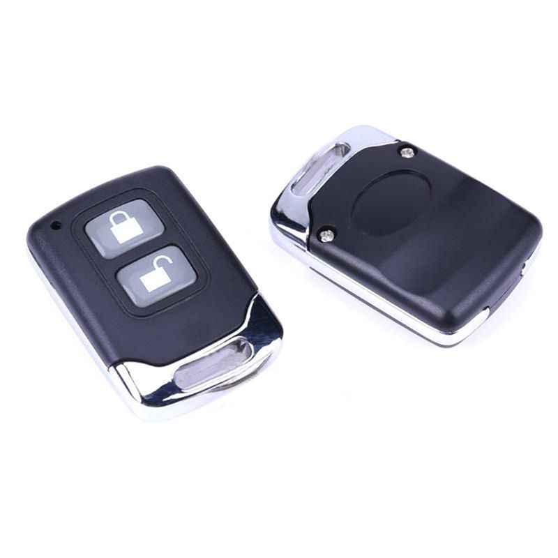 Universal Mobil Alarm Sistem Auto Remote Central Kit Door Lock Mengunci Kendaraan Tanpa Kunci Masuk Sistem dengan 2 Remote Controller