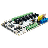 NEW 12V Upgraded Integrated Motherboard Control Board Module Support 3 Print Heads For 3D Printer Mainboard