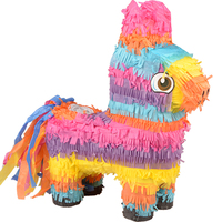 Pinata Unicorn Party Happy Birthday Kids Decoration Game Candy Props Beat Pinata Paper Folded Game Gifts Toys Favors Supplies