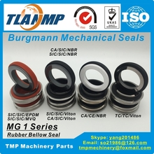 MG1-25mm Eagle Burgmann Mechanical Seals MG1 Series for Shaft size 25mm Pumps Material-SIC/SIC/VITON Single Spring