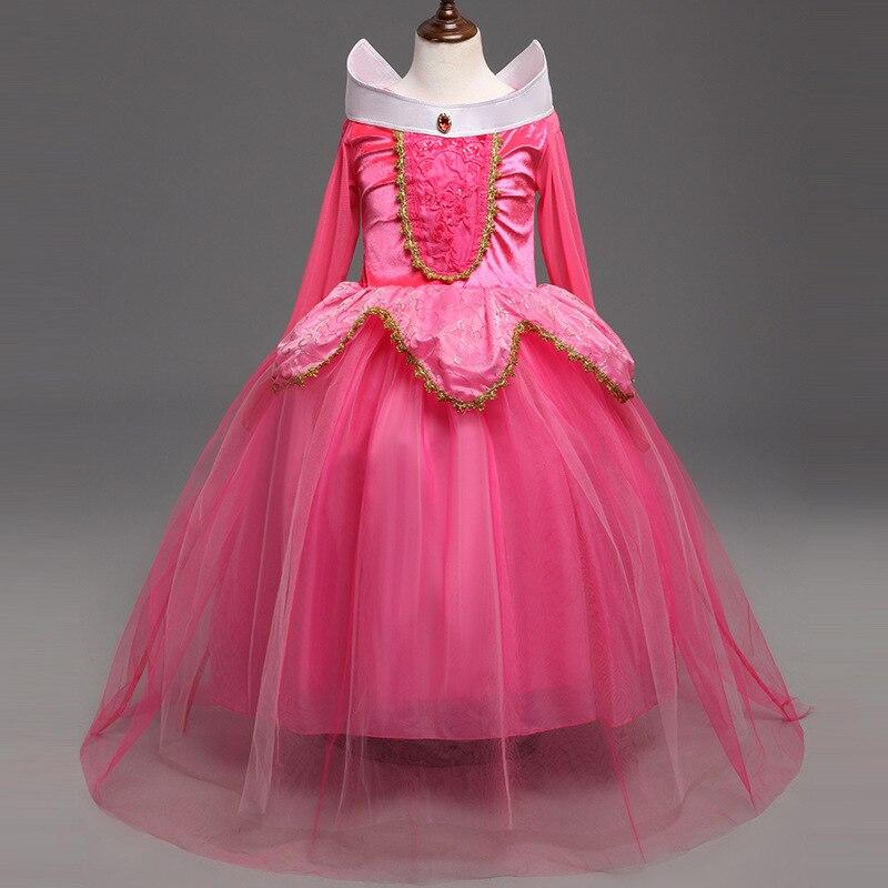 2018 Million Halloween New Style Children's Clothing Aurora Princess Dress Girls Dress Cosplay Children's Clothing a Generation