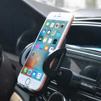 Car Phone Holder For iPhone X Xs Max 8 XR 360 Rotation Support Mobile Phone Accessories Air Vent Mount Holder Phone Stand