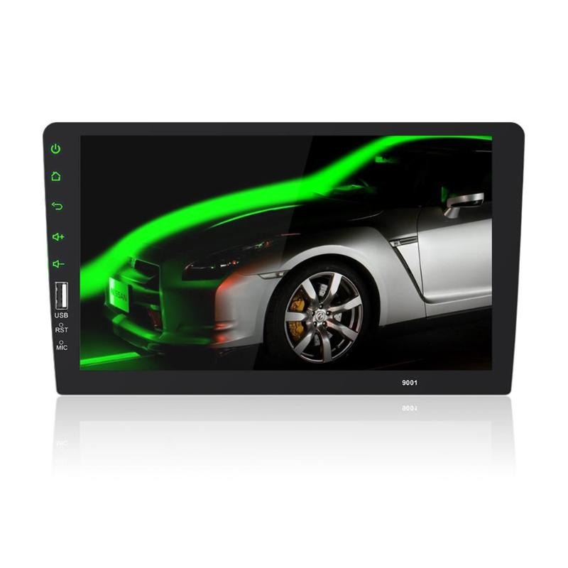 VODOOL 9 pouces 1Din dans le tableau de bord Bluetooth voiture MP5 lecteur vidéo USB AUX stéréo MP4/MP5 Audio Radio lecteur moniteur de stationnement