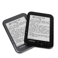 Special factory Price e ink 6inch 600*800 Black libro electronico ebooke ink display ebook reader 16GB e book reader