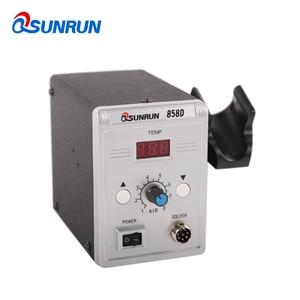Image 5 - Qsunrun 700W Hot Air Gun 858D ESD Soldering Station LED Digital Desoldering Station Upgrade from 858D