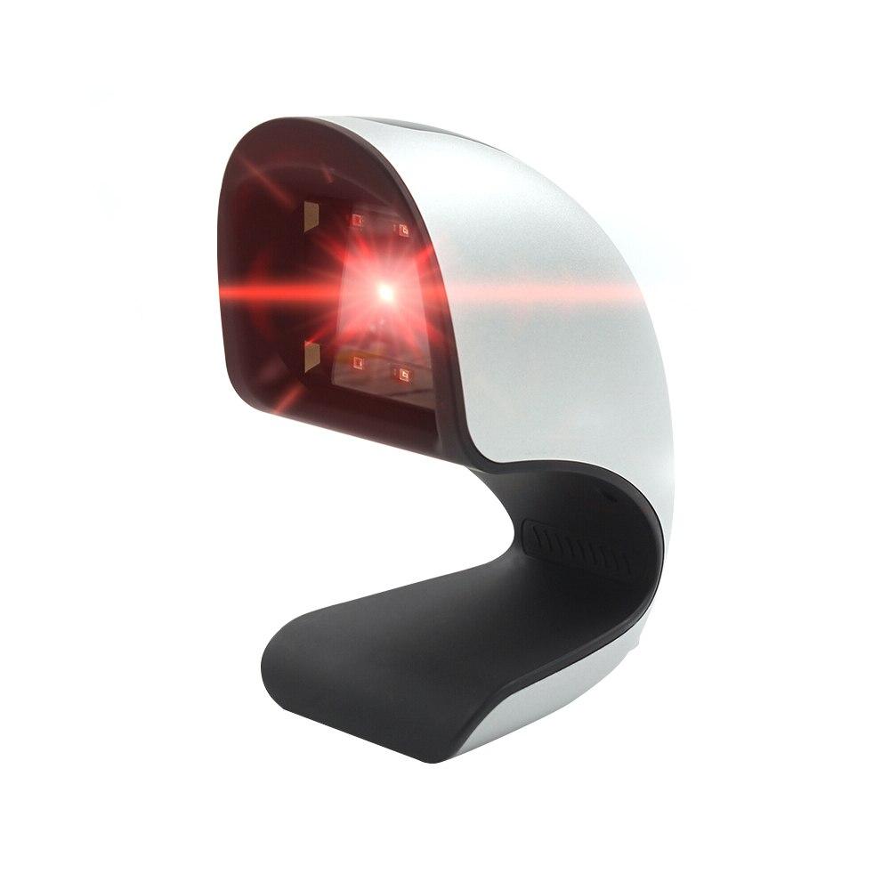 Barcode Scanner USB Versatile Scanning Code QR Code 1D 2D LED CMOS Code Reader for Supermarkets