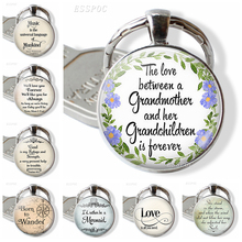 God Is My Refuge and Strength Inspirational Bible Verse Quote Glass Dome Cabochon Jewelry Keychain Women Men Pendant Lover Gift hot new romans 8 31 bible quote keychain if god is for us who can be against us verse christian nursery jewelry women men gifts