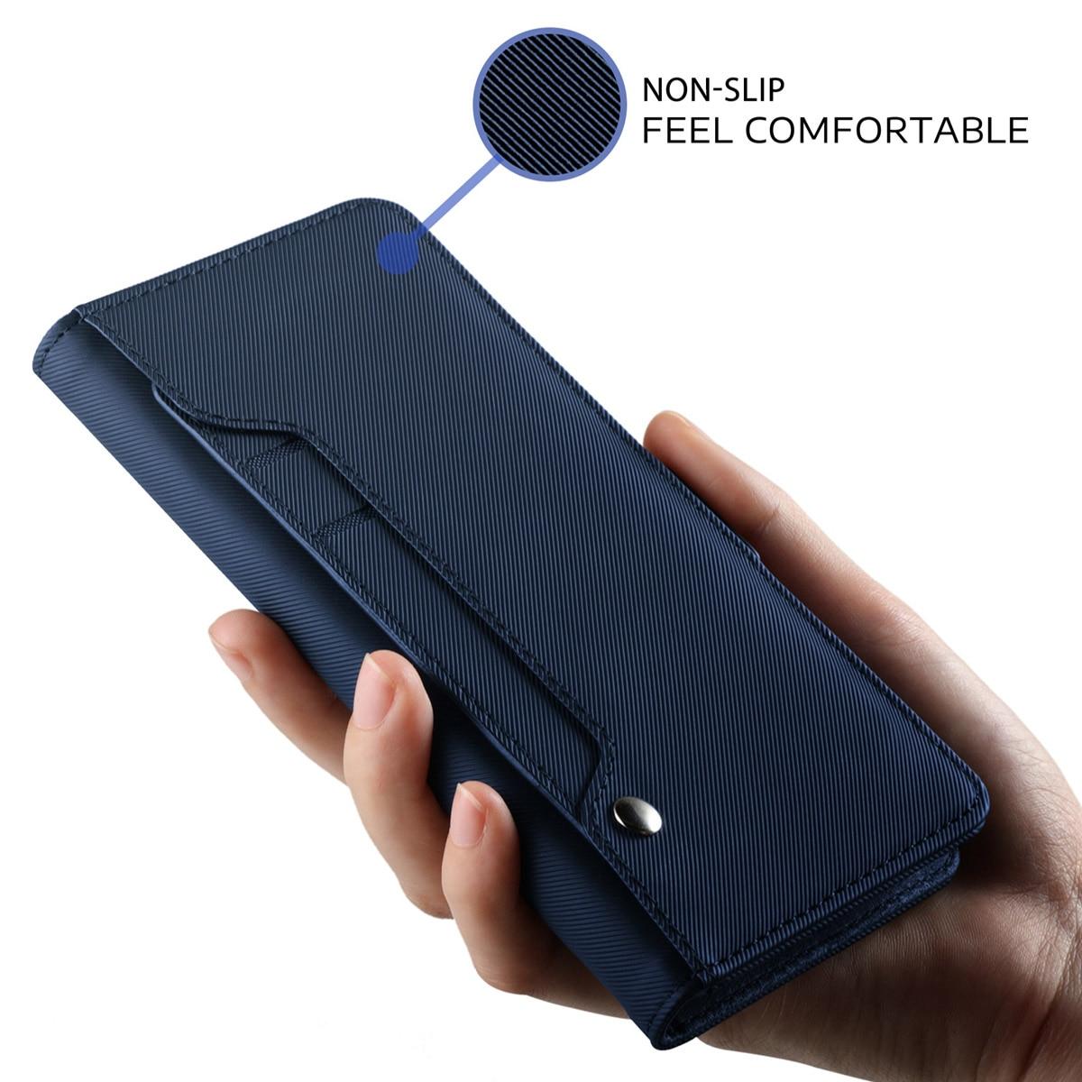 Caso Carteira De Couro PU para Samsung Galaxy A50 A40 A30 A20 A10 S10 plus S10e M10 M20 Tampa do Suporte Da Aleta com Espelho e Cartão de Slots