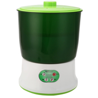 220V 1.5L 3 Layer Multifunctional Large Capacity Machine Green Automatic Homemade Bean Seed Sprouts Machine Garden Nursery Pots