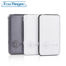 5000mah Touyinger Everycom S6 plus Mini pocket projector dlp wifi portable Handheld smartphone Projector Android AC3 Bluetooth(China)