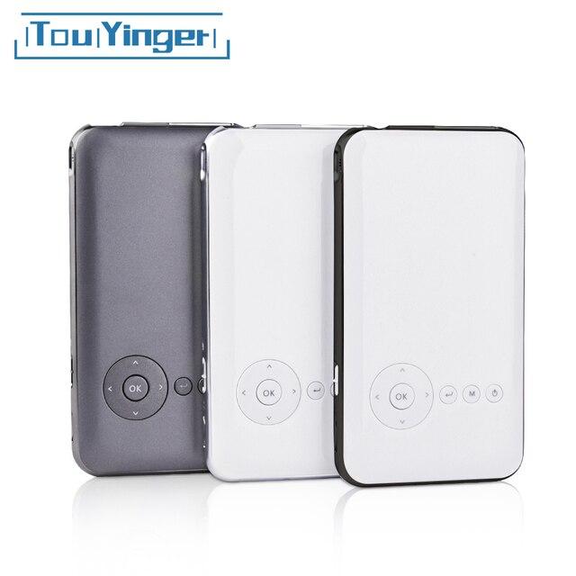 5000 mAh Touyinger Everycom S6 Plus Mini bỏ túi Máy chiếu DLP wifi di động Cầm Tay điện thoại thông minh Máy Chiếu Android AC3 Bluetooth