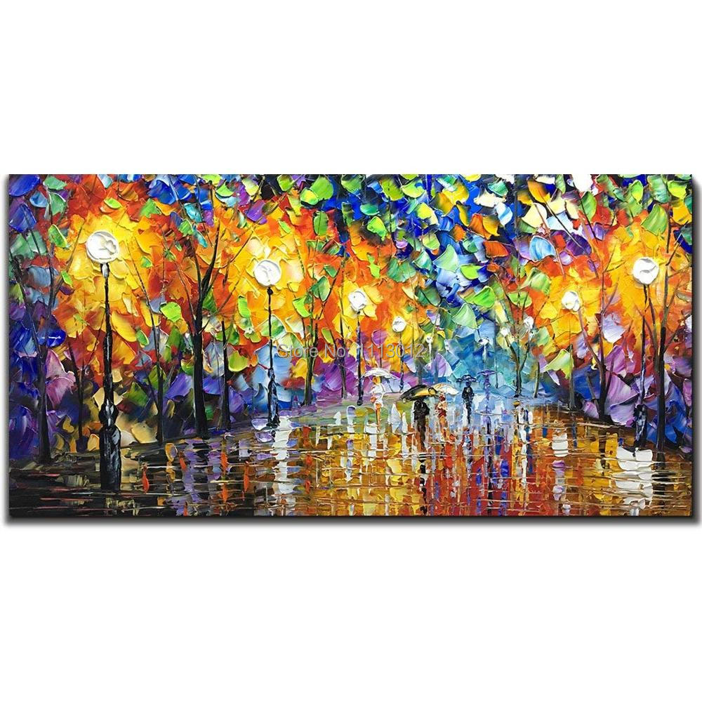 Oil Paintings On Canvas Art 100% Hand Painted Contemporary