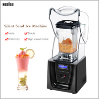 Xeoleo Commercial High performance blender Sound insulation 1800W Food mixer 2L Heavy duty Blender BPA Free Mute Smoothie maker