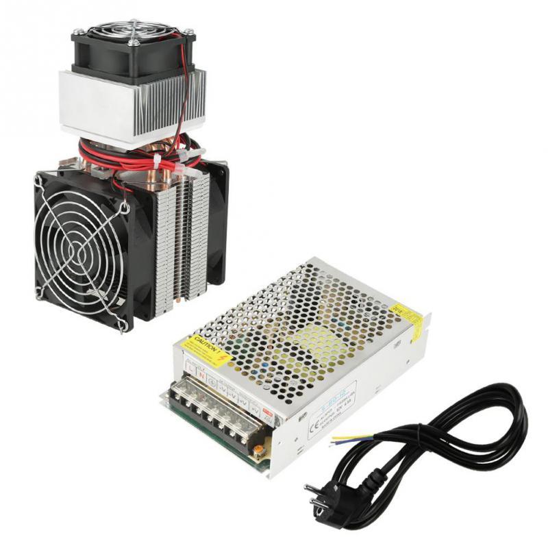 220 В 72 Вт термоэлектрический Пельтье Холодильное системы охлаждения комплект полупроводниковых охладитель большой холодной проводи