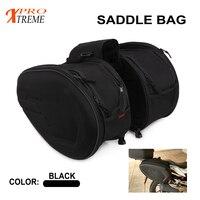 Universal Saddle Bag Side Helmet Riding Travel Bags + Rain Cover For Yamaha Honda Suzuki KTM Duke R1 R6 MT 07 09 Motorcycle