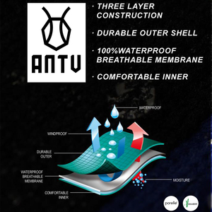 Image 5 - ANTU Waterproof Breathable Bamboo rayon Socks TRAIL DRY For Hiking Hunting Skiing Fishing Seamless Outdoor Sports Unisex