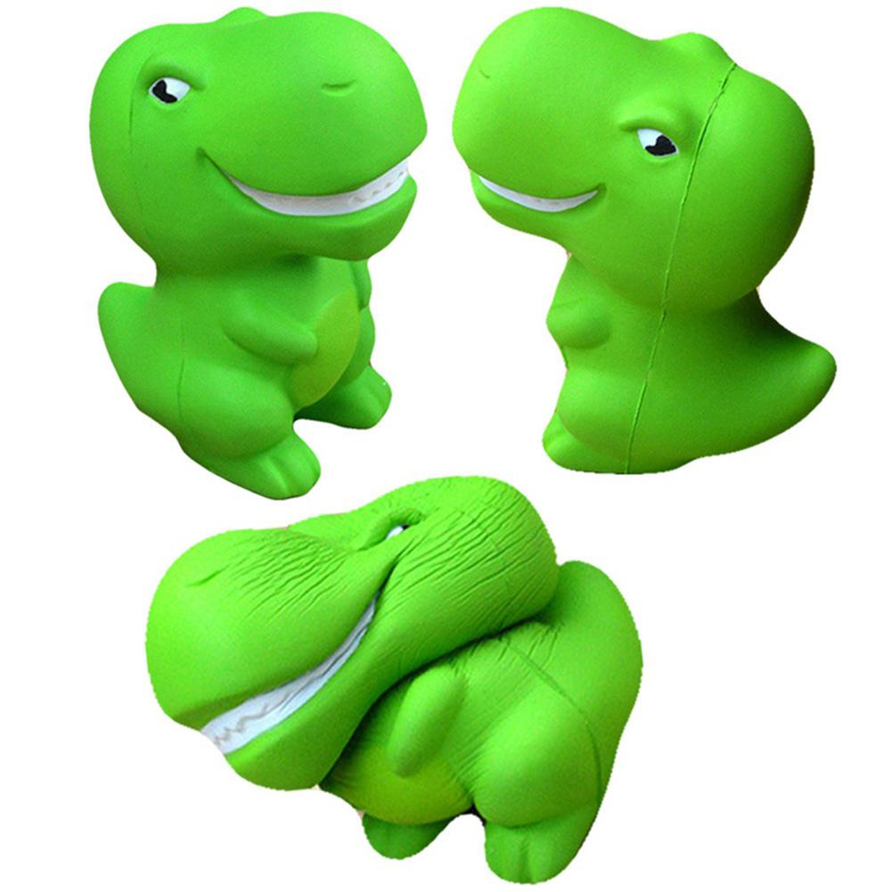 Cute Squishy Cartoon Dinosaur Shape Slow Rising Toy Children/Adult Vent Soft Squeeze Stress Relieve Toy Christmas Gift