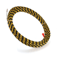 30m Length 6.5mm Guide Device Fiberglass Electric Cable Push Pullers Conduit Ducting Snake Rodder Fish Tape Wire