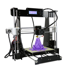 Industrial 3D Printer kit Self Assembly Desktop High Accuracy Nozzle Extrude Large Printing Size with 1kgs PLA Filament wanhao d5s mini desktop 3d printer with high performance and accuracy industrial level with printing size 290 190 190mm