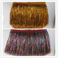 10Yards 20CM Width Tassel lace ribbon Fringe Polyester Trimming DIY Lace Trim For Latin Dress Costume Accessories