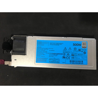 For G9 500W Server power 720478 B21 754377 001 723594 001 HSTNS PC40 Power Supply