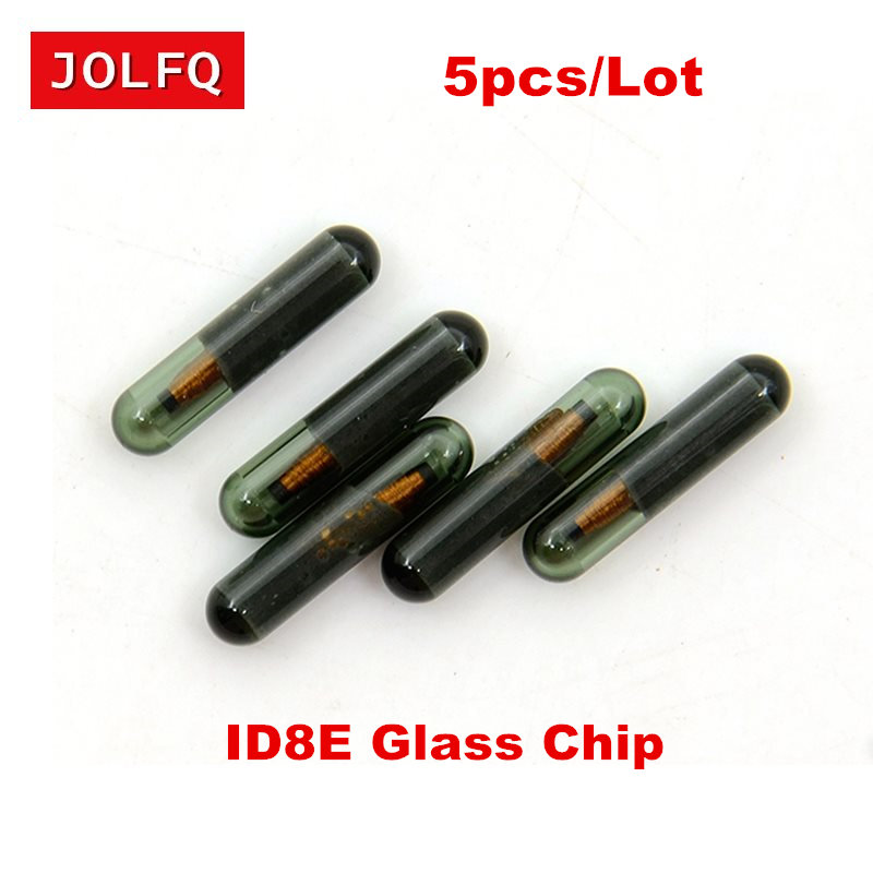 NEW 5pcs/Lot Free Shipping Auto Car transponder Chip 8E chip ( glass) Fit For Honda Audi ID8E Transponder chip for honda audi 8E(China)