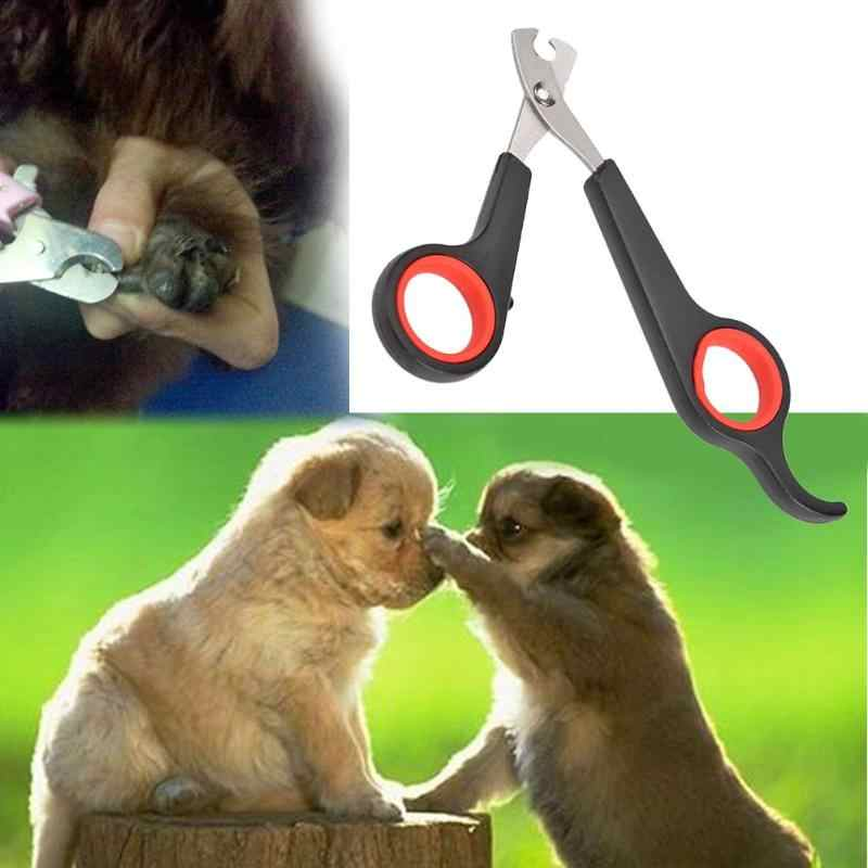 In Acciaio Inox Pet Forbici Tagliatore di Chiodo della Punta Dog Cat Claw Attrezzi strigliatura e tolettatura Trimmer Nailclippers