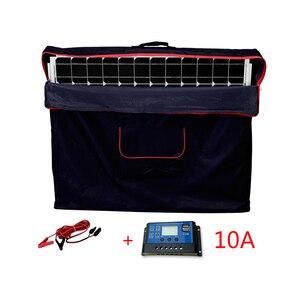 Image 5 - Солнечная панель Dokio Складная, 100 Вт, 12 В, 18 в