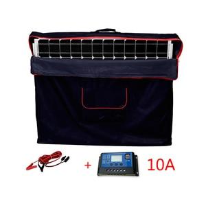 Image 5 - Dokio 100W 접이식 태양 전지 패널 12V 18V 태양 전지 셀/모듈/시스템 충전기 컨트롤러 태양 전지 패널 키트 ru에서 우주선