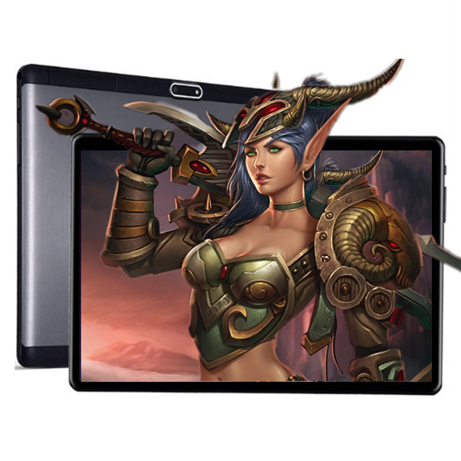 KUHENGAO Worldsite Unlocked 4G LTE/FDD Octa Core 10 inch 32GB/64GB Android 7.0 Phone Call 2 in 1 Tablet PC Computer 1920x1200