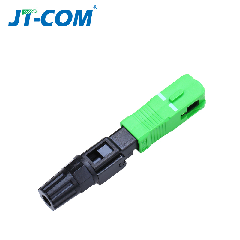 Image 4 - 100pcs SC APC optic Fiber fast connector, field assembly embedded UPC Single mode optical quick cold connector for FTTH cable-in Fiber Optic Equipments from Cellphones & Telecommunications