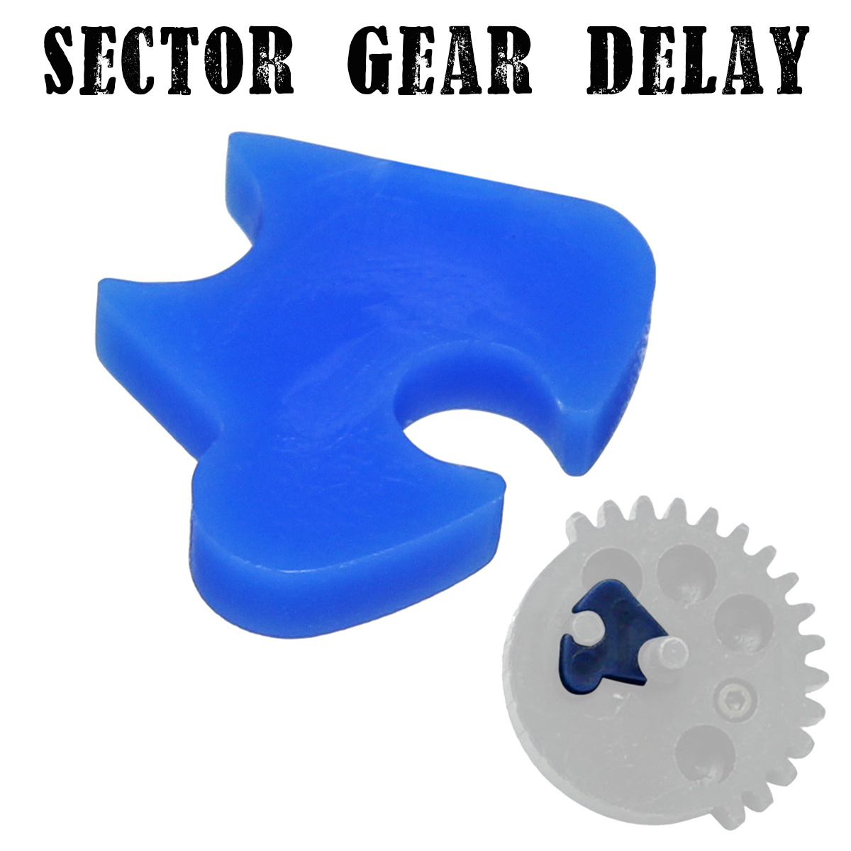 Sector Gear Nylon Delay Gel Ball Blasters For M4 RIS M4A1 Scar V2 Ump 8th Game Water Toy Guns Replacement Accessories