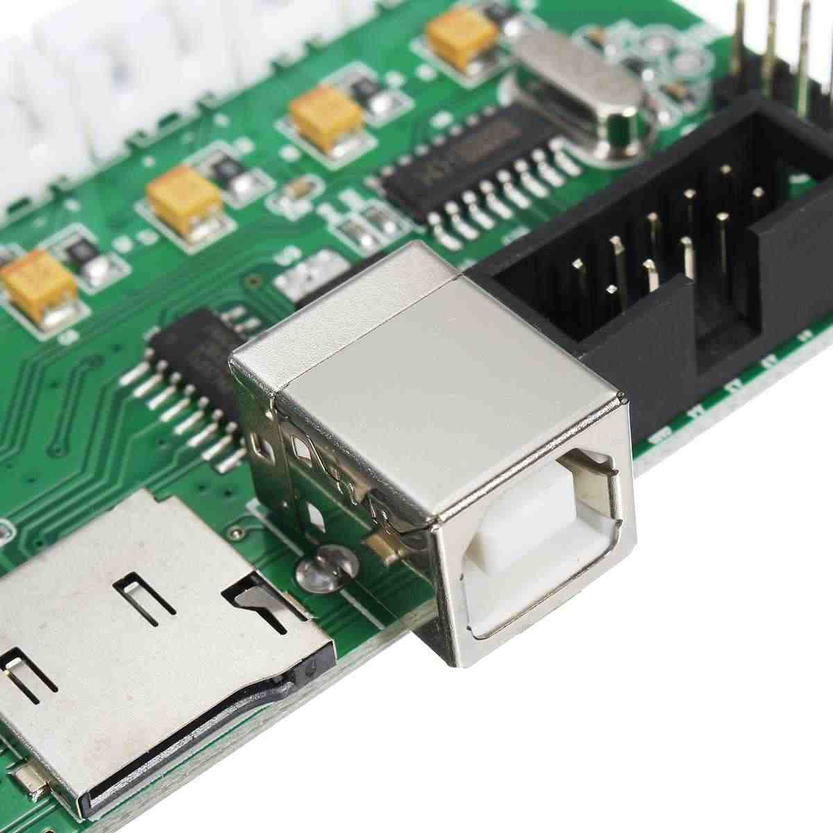 High Quality 3D Printer Controller Board DIY Kit PCB Card Board Mainboard Melzi 2.0 1284P Motherboard DIY