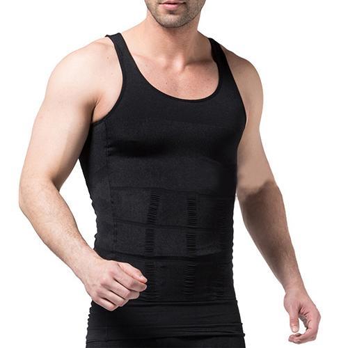 Men's Slimming Body Shaper Waist Training Corset   Tank     Top   Vest Shapewear