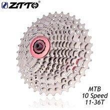 цена на ZTTO MTB Mountain Bike Bicycle Parts 10s 30s Speed Freewheel Cassette 11-36T Compatible for Parts M590 M610 M675 M780 XT SLX