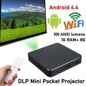 4K/8GB HD bluetooth Home Proje