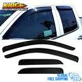 Fit Für 14-18 Silverado 1500 Sierra Extended Cab Acryl Fenster Visiere 4Pc Set Globale Kostenloser Versand