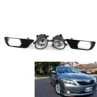 For 2007 2009 Toyota Camry Clear Bumper Driving Fog Lights +Switch Left and Right AA