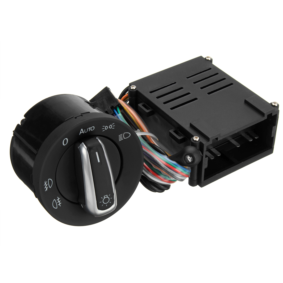 Image 3 - Car Auto Headlight Sensor HeadLamp Knob Switch Control Module for VW T5 T5.1 Transporter 2003 2015-in Car Switches & Relays from Automobiles & Motorcycles
