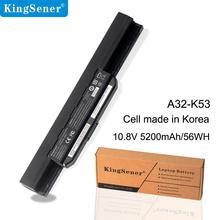 KingSener A32-K53 A41-K53 Аккумулятор для ноутбука ASUS K53 K53E X54C X53S X53 K53S X53E K43E K43S K43U X43S X43SJ X43SV A43S A53S