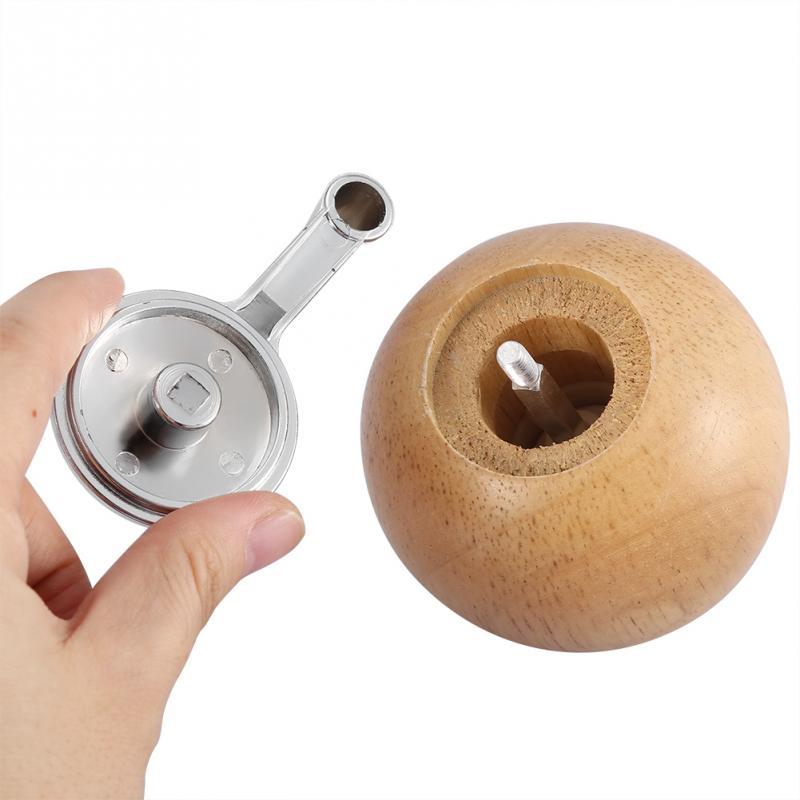 Новая мельница для соли и перца, деревянная мельница для перца с сильной регулируемой Керамической мельницей, ручная мельница для приправ, кухонные инструменты для приготовления пищи