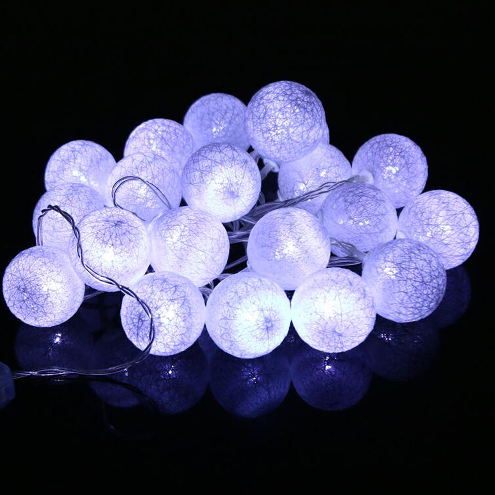 1-5Pcs 3M 20LED String Fairy Lights Snowflake Xmas Tree Party Home Decor Lamps